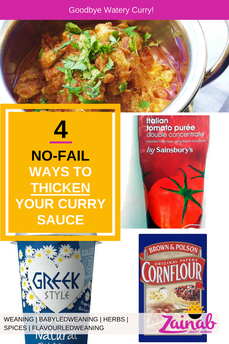4 Ways to Thicken Curry Sauce