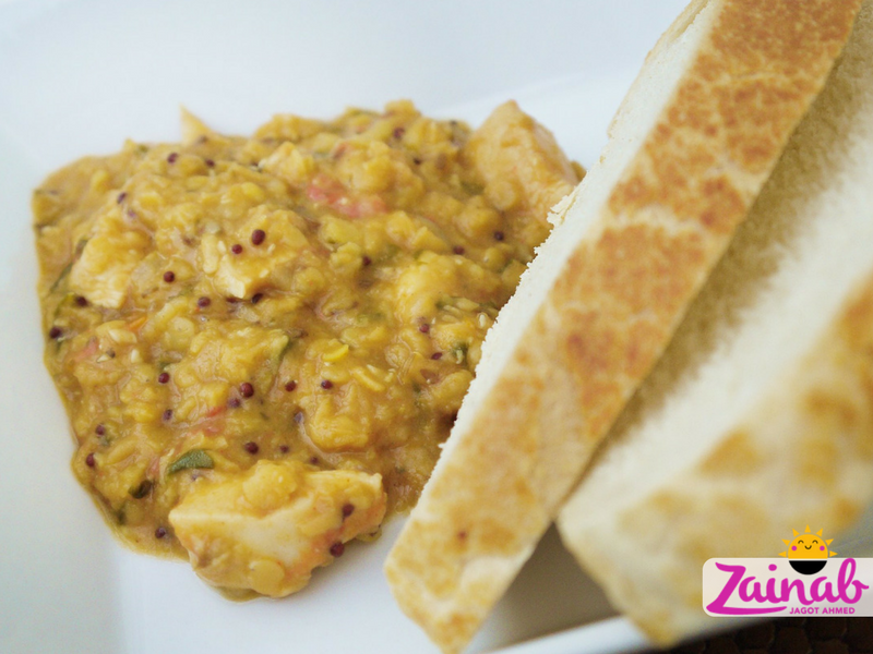 Easy Chicken and Dhal