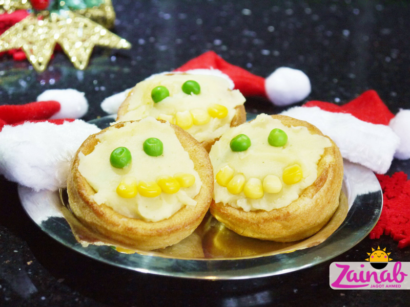 Santa Spiced Pudding Pies