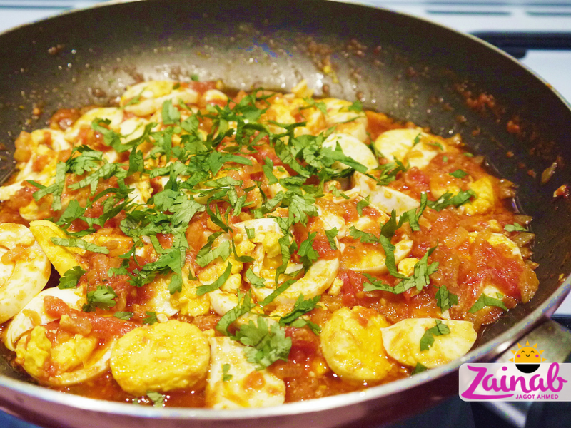 Easy Peasy Egg Curry