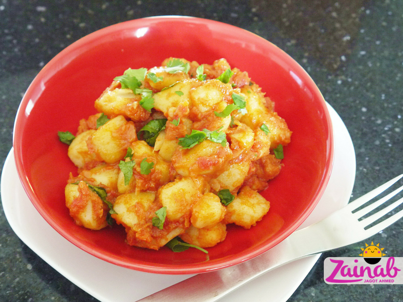 Tandoori Potato Curry