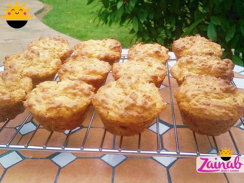 Cheesy Summer Muffins