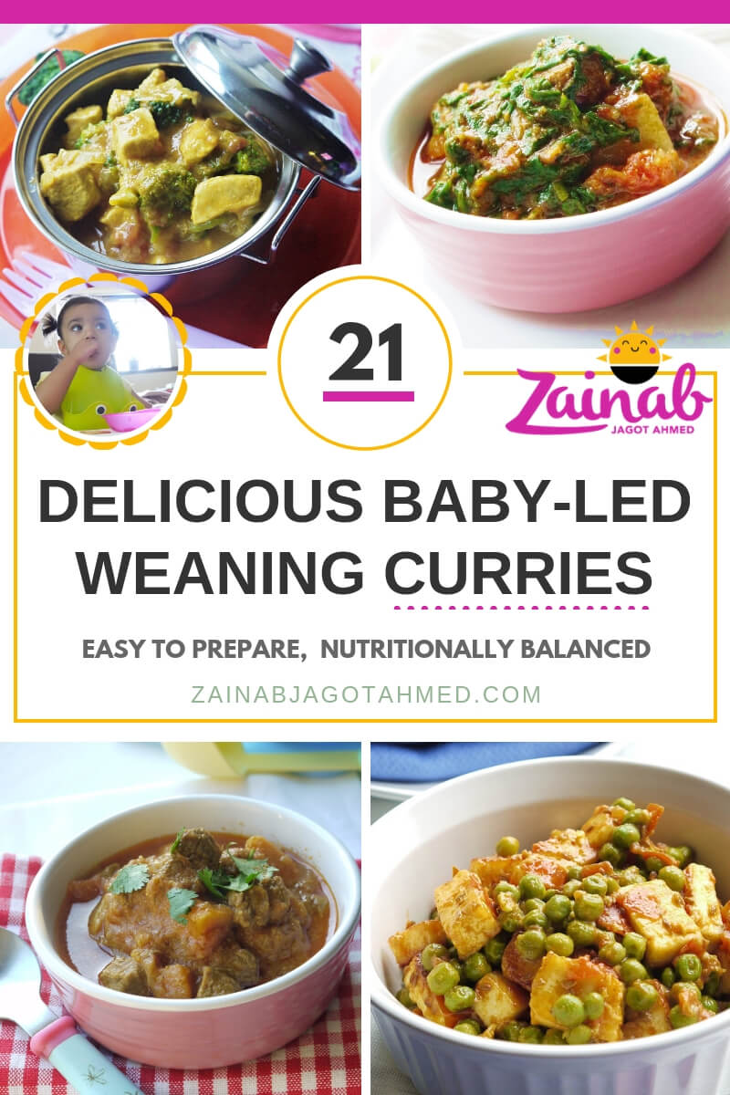 21 Delicious Baby-led Weaning Curries - Easy to Prepare, Nutritionally Balanced