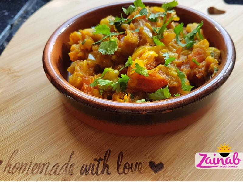 Smoked Aubergine Bharta, Baingan Bharta, Eggplant Curry, Family Meal , Vegetarian and Vegan, Quick, Easy