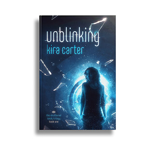 Unblinking - Book one in the Shuttered Lands TrilogyAvailable on Amazon, Barnes and Noble, iBooks, Kobo, and Google Play.Everyone is watching...