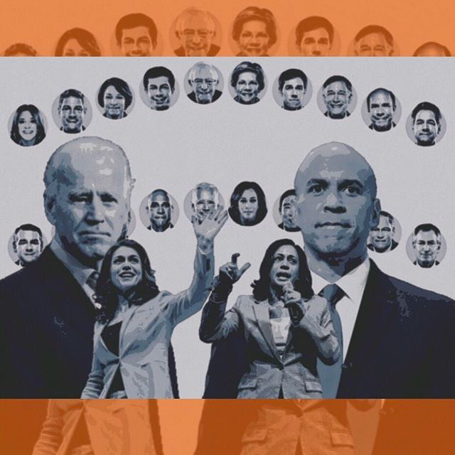 • TAKEAWAYS FROM THE JULY DEMOCRATIC DEBATES • Slideshow + analysis by Anu Thirunarayanan • Graphic by AGORA Media Live now, link in bio