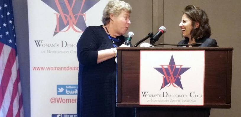 WDC President with Neera Tanden