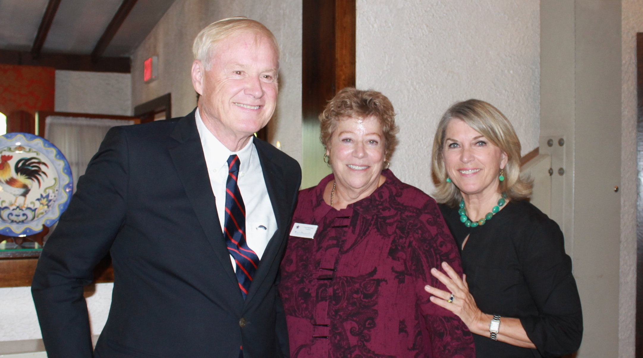 Photo Album FLCKR  (left-right) Chris Matthews, Fran Rothstein, Kathleen Matthews