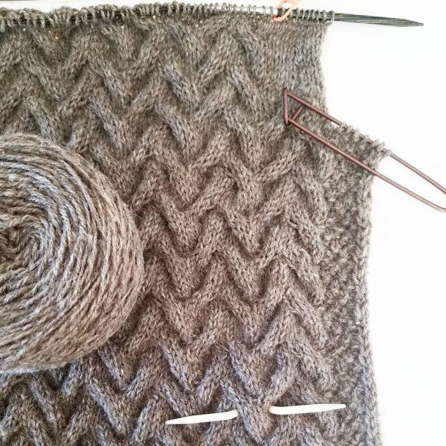 Design progress underway!  #knitworthyarts #kwarts #knitweardesign #slowfashion #localyarn #georgiayarn #wool #cables