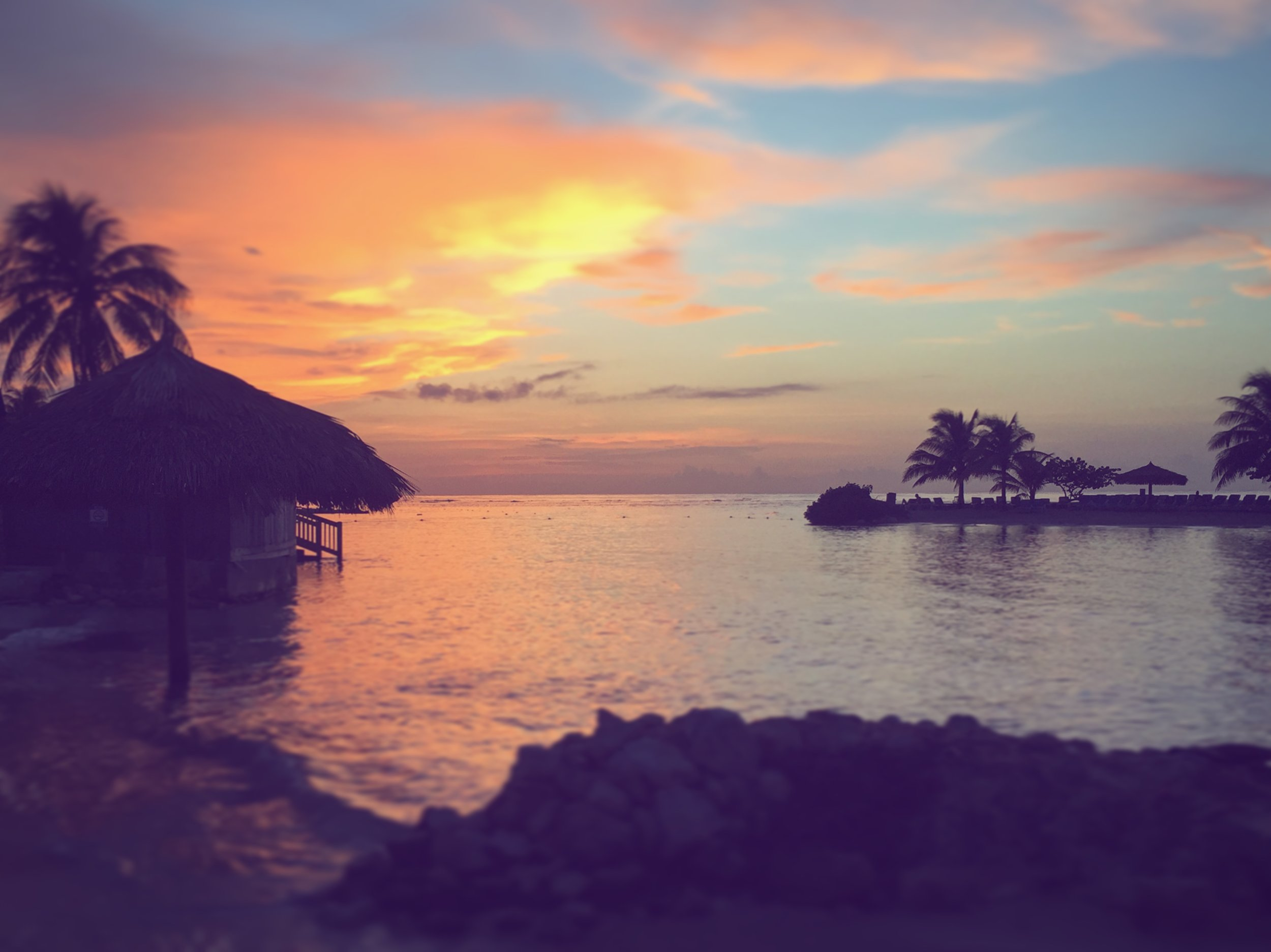Sunset in Montego Bay, Jamaica