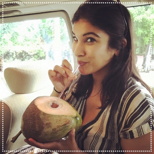 You can find fresh coconuts all along the roads while traveling from place to place. Be sure to pull over and get a refreshing drink en route!