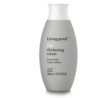 Full: Thickening Cream - Throw a little of this in your hair before blowdrying or styling for noticable volume. It also helps curls hold better - you can quote me on that.