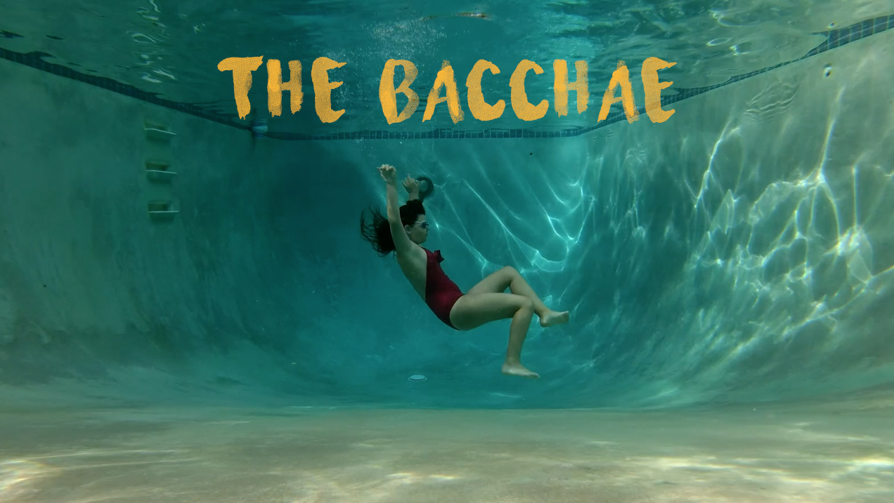THE BACCHAE - A narrative short film about a pensive 11-year-old girl who challenges the status quo with a group of misfit friends while attending a religious summer camp. Premiering on the 2018/2019 festival circuit.