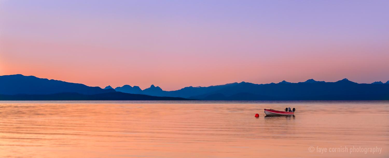 Lone Rowboat
