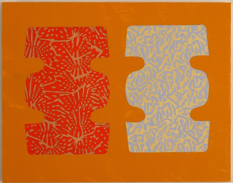 """""""Dijon,"""" acrylic on wood panel, 11"""" x 14"""", 2006"""