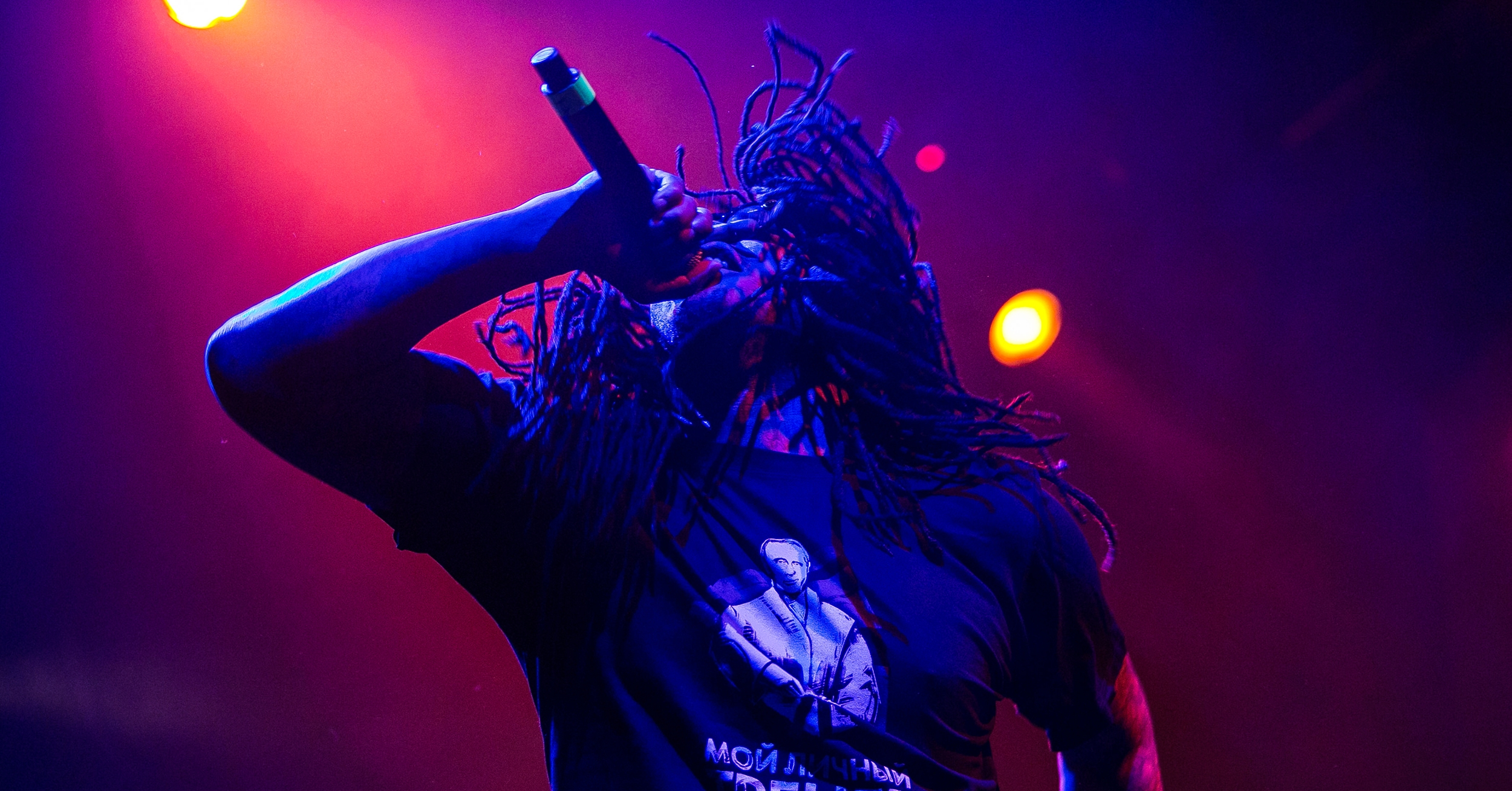 Waka Flocka is vegan. But has it in with the militant vegan police.