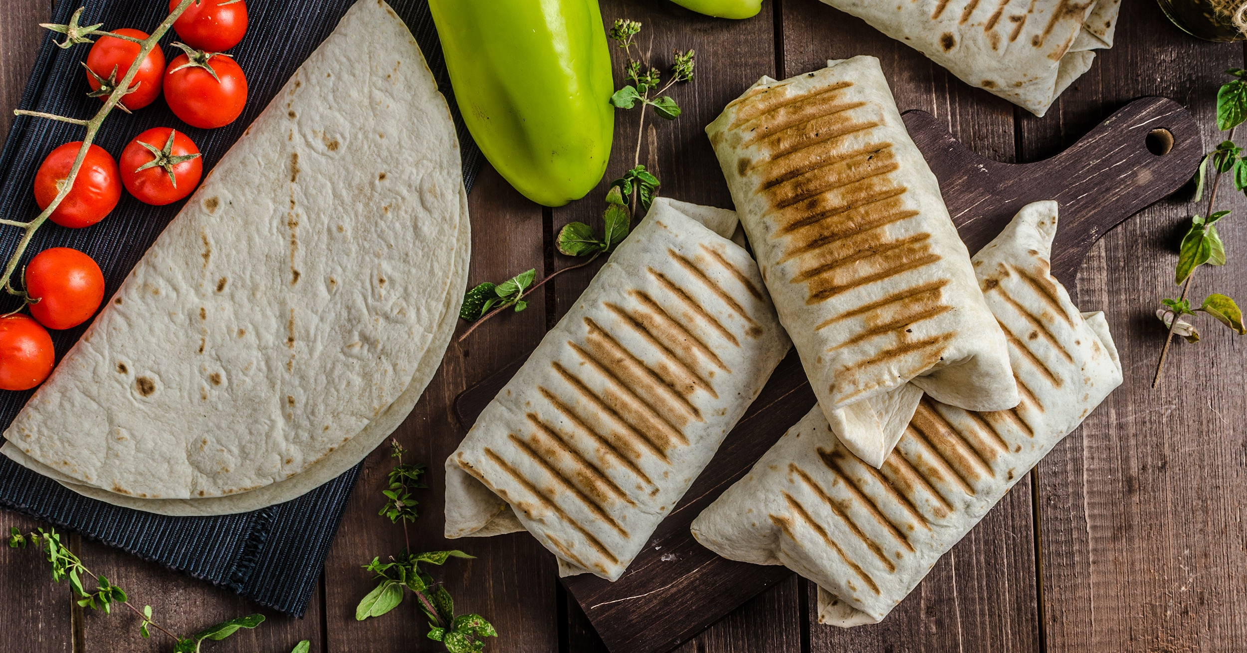 Plant-based breakfast burrito, healthy and hearty, and vegan brunch ideas.
