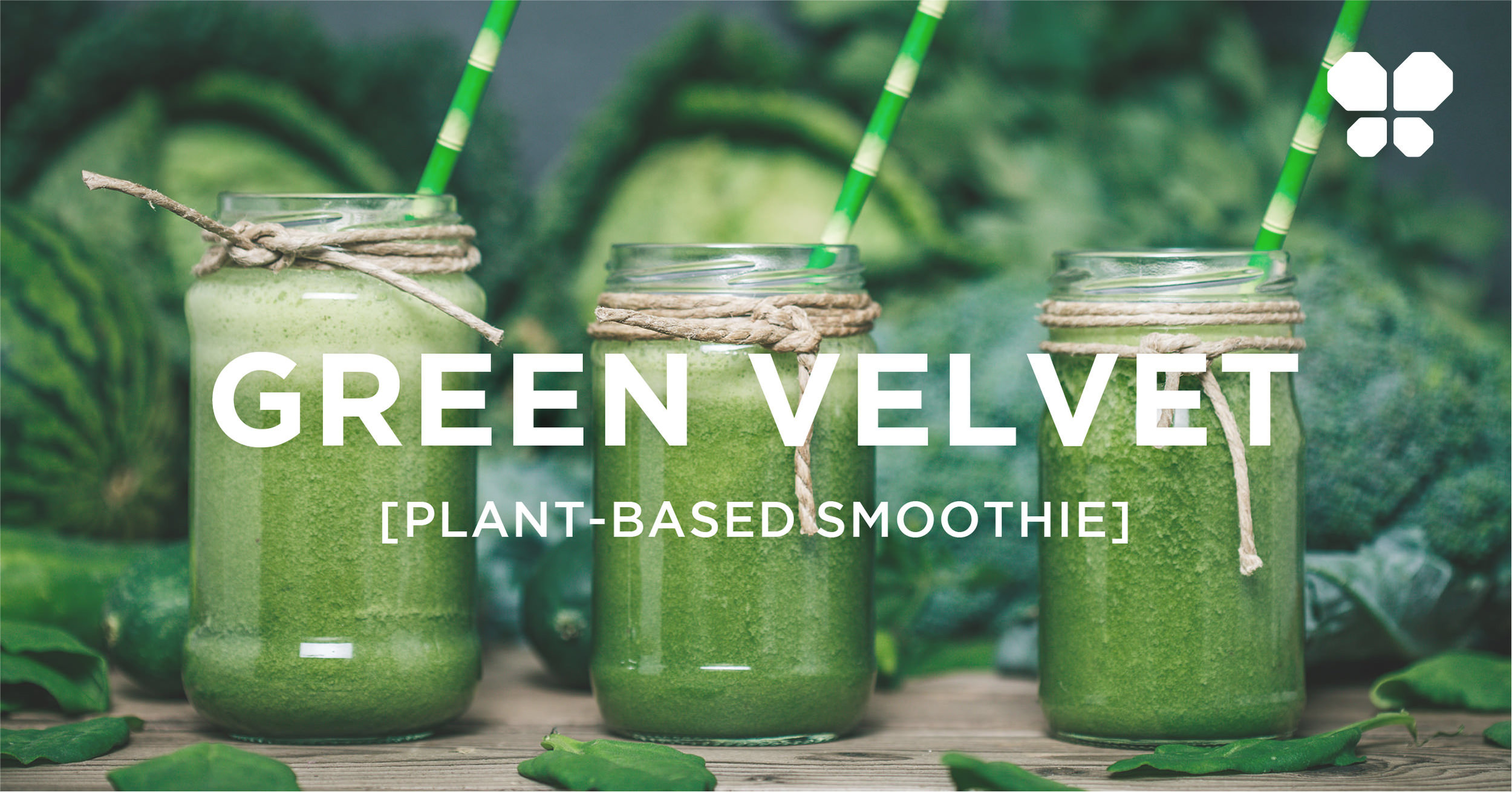 Green plant-based smoothie. Vegan juice with kale, cucumber, spinach, pineapple, ginger, celery and lemons.