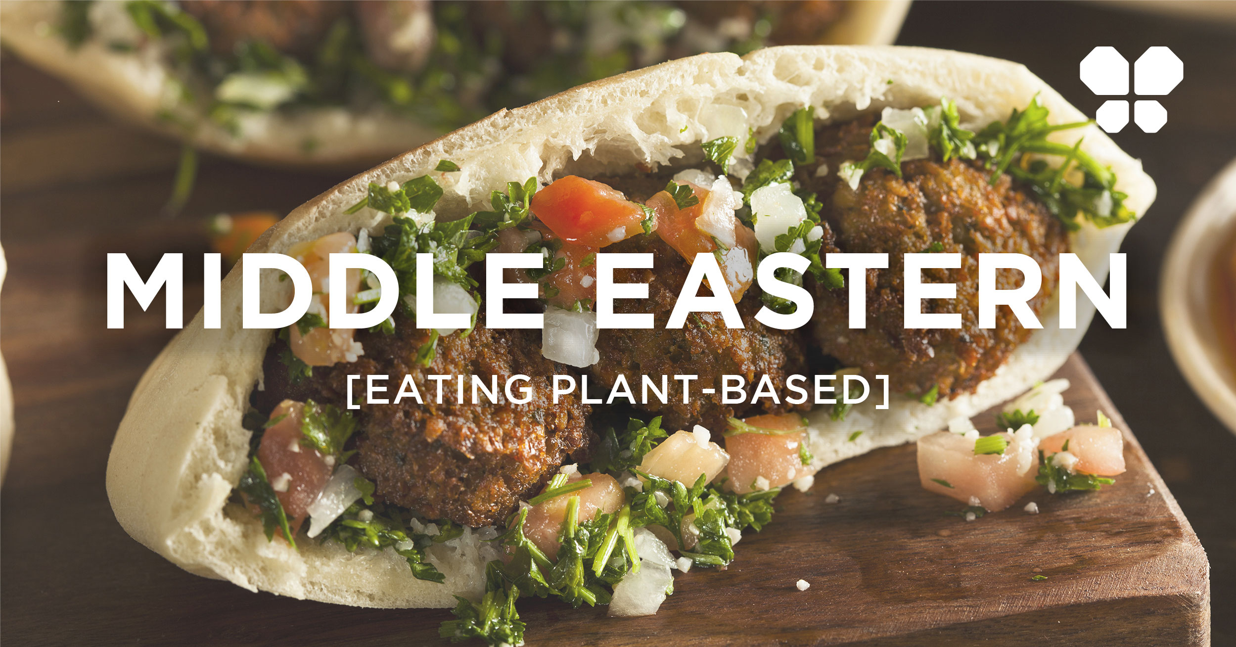 Eating out vegan Middle Eastern or vegan Mediterranean cuisine. Plant-based tips for eating Middle Eastern food.