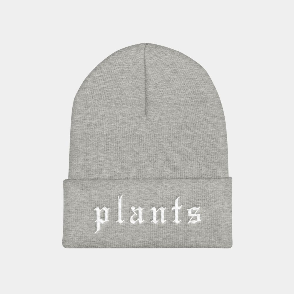 Vegan beanie hat by BLOKLIFE.