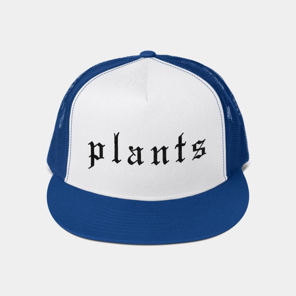 Vegan trucker hat by BLOKLIFE. Plant-based snapback hat.