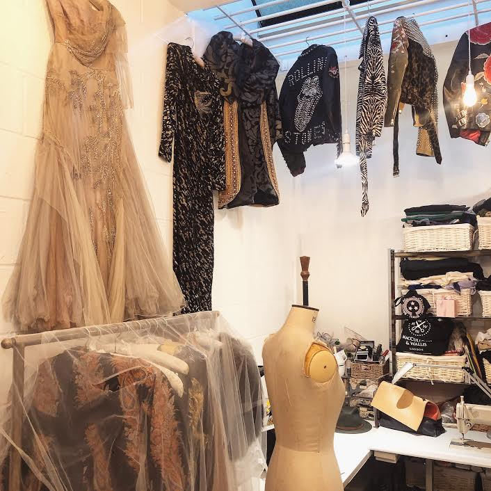 Photo: The inside of Marcelle's One Vintage showroom on Portobello Road where the interview took place.