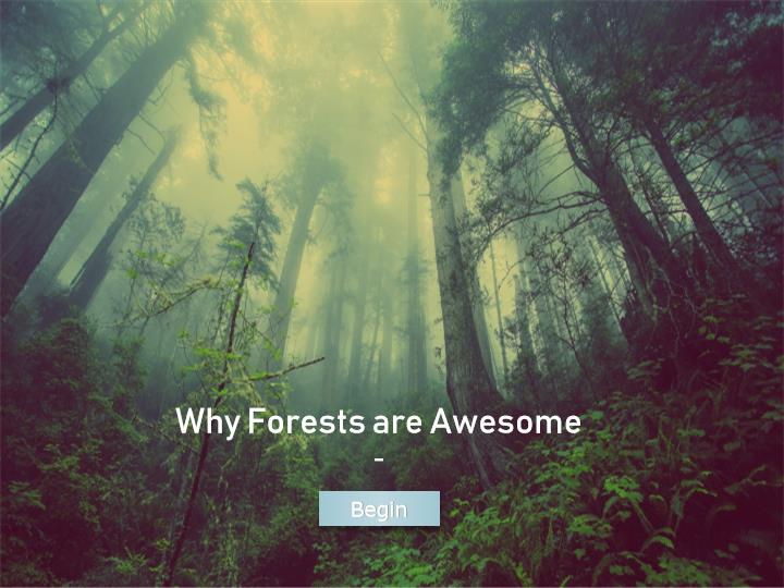What makes forests awesome, and why are they awesome? Take this quick and informative course to find out, and enrich your understanding of the awesomeness of forests.