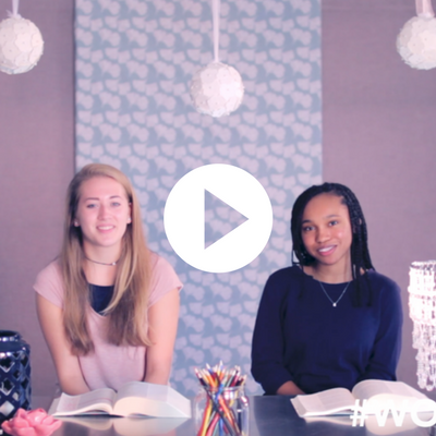 EPISODE SEVEN  Addison and Giselle dive into the Bible in their vlog series on how to study the Bible. [Part 3 of 3]