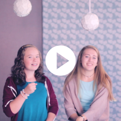 EPISODE EIGHT  Meet Jenna, an 8th grader who teaches us the WoW 2K18 Bible verse in American Sign Language.