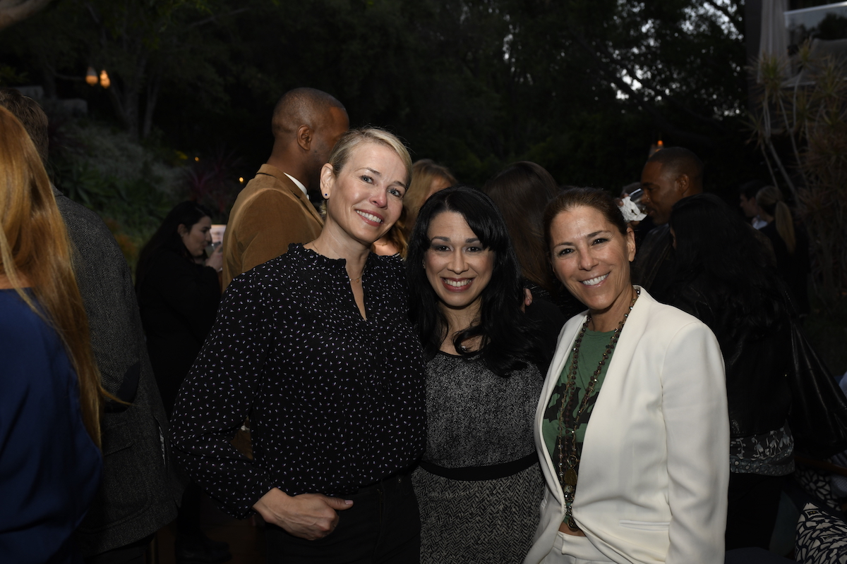 Thank you to Chelsea Handler for hosting our LA launch party on May 3rd at her beautiful home. Virginia Delegate Kelly Fowler and Nicole Boxer came to show their support for our efforts in this year's crucial midterm elections!