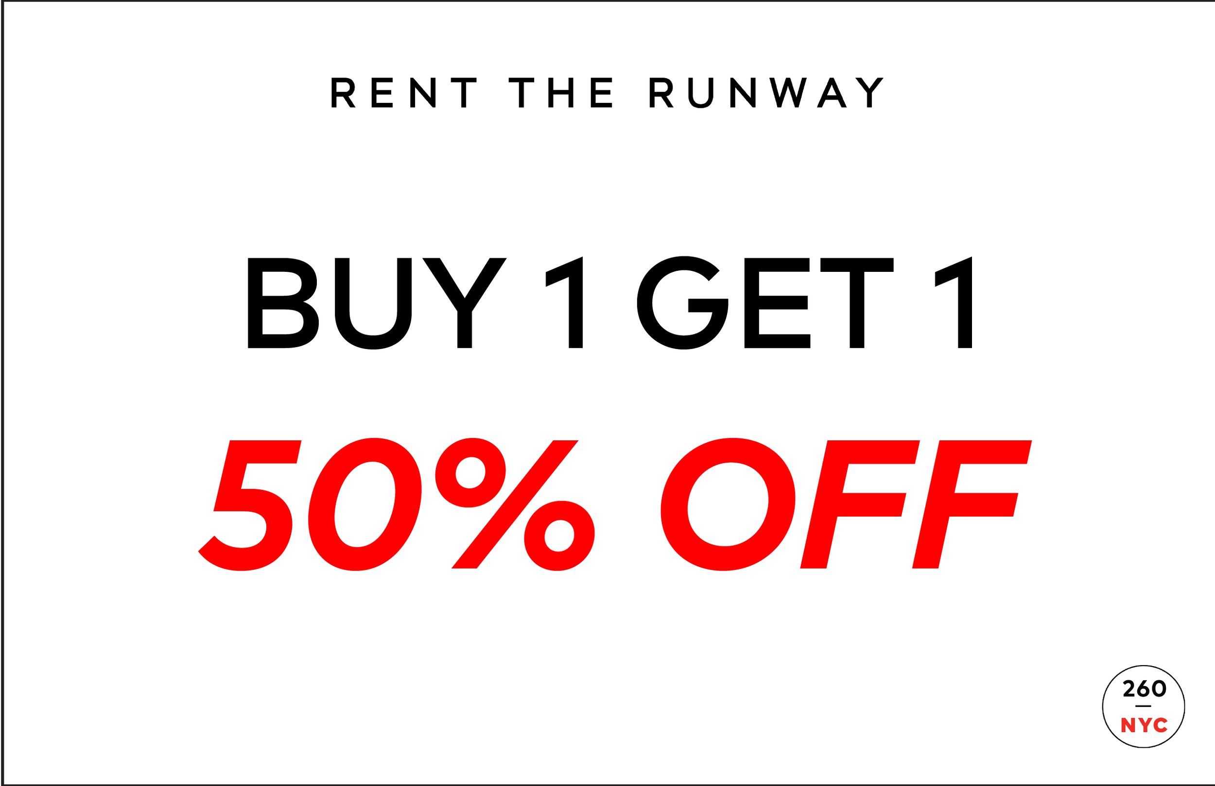 Rent the Runway Sample Sale — 260 SAMPLE SALE