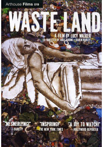 Waste Land   Waste Land follows renowned artist Vik Muniz as he journeys from his home base in Brooklyn to his native Brazil and the world's largest garbage dump.  Waste Land is available on DVD from  Amazon. Click here to purchase.   To learn more about the documentary,  click here.