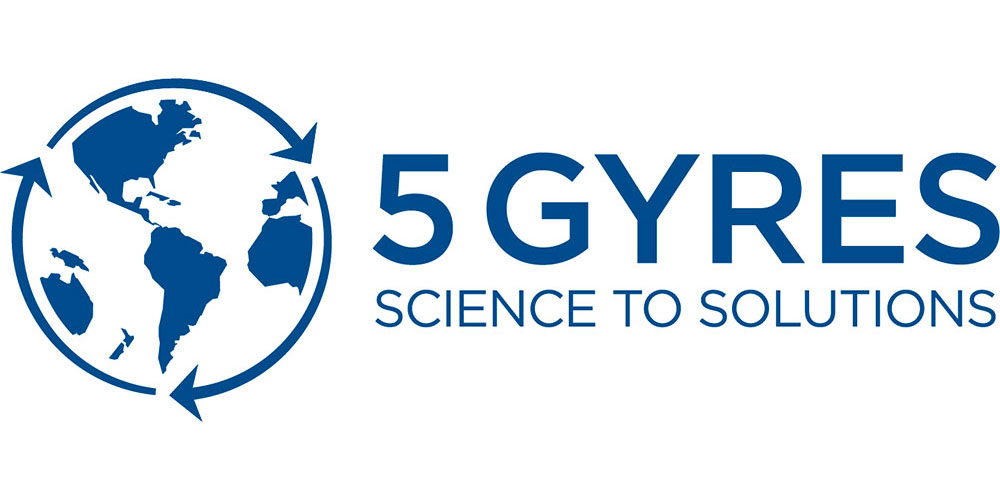 5 Gyres   researches and communicates about the global impact of plastic pollution in the world's oceans and works to eliminate the flow of plastic pollution in the 5 subtropical gyres.