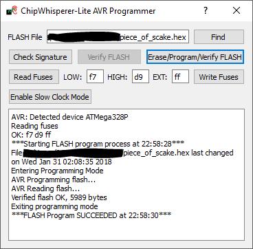 Flashing the challenge using Chipwhisperer
