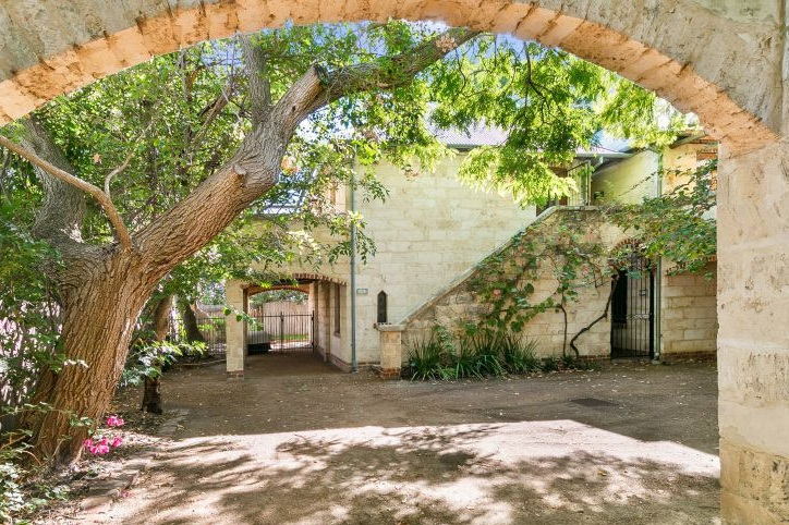 Photograph of Limestone property in Subiaco, sold by deceased estates specialist Simon Blake-Graham
