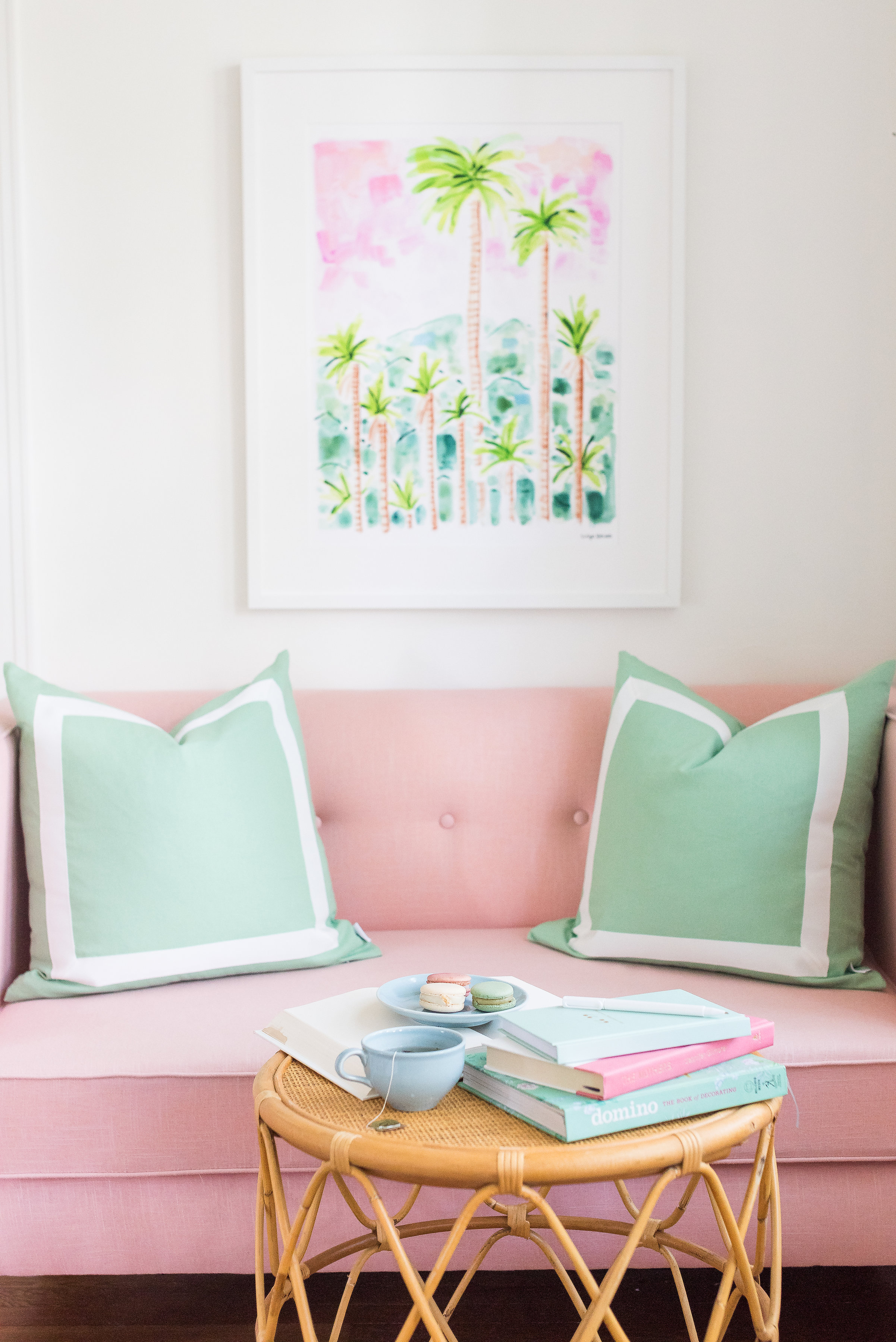 Evelyn Henson Sitting Area Styling