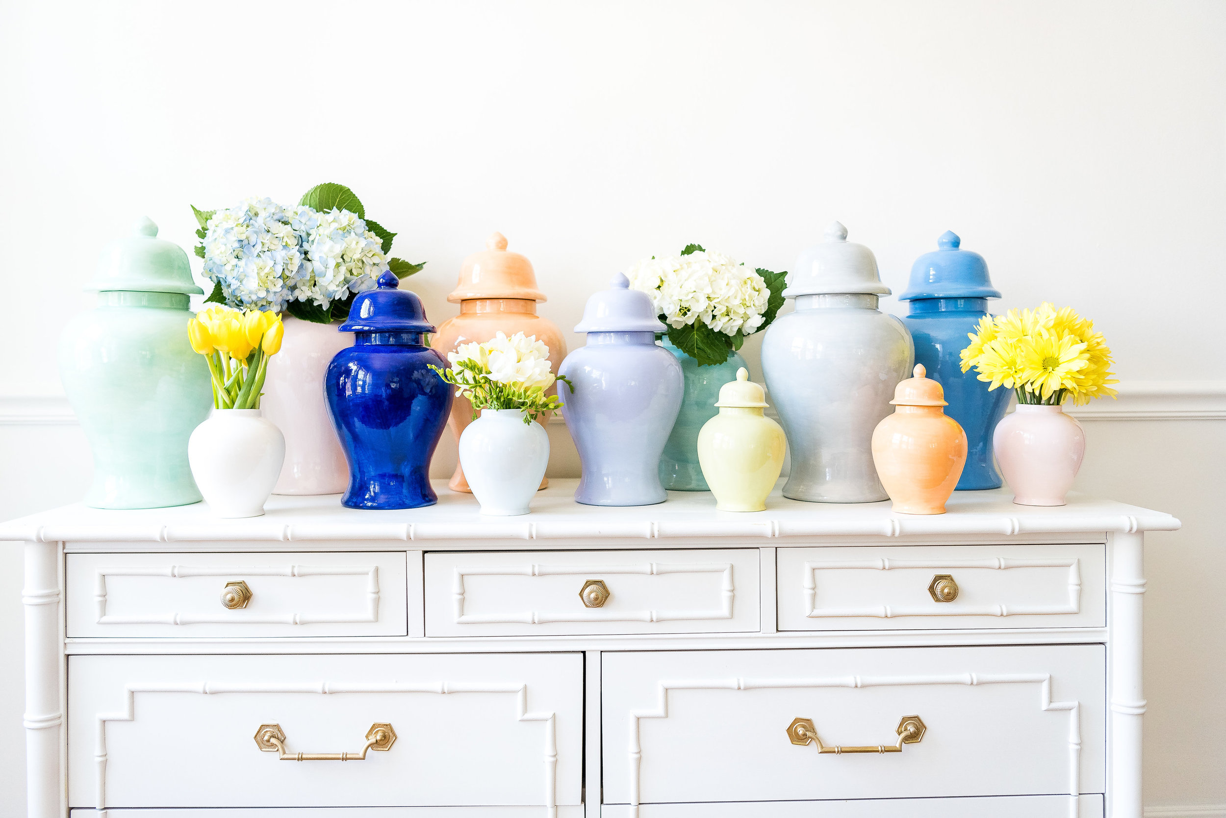 Lo Home Ginger Jar Collection Styling