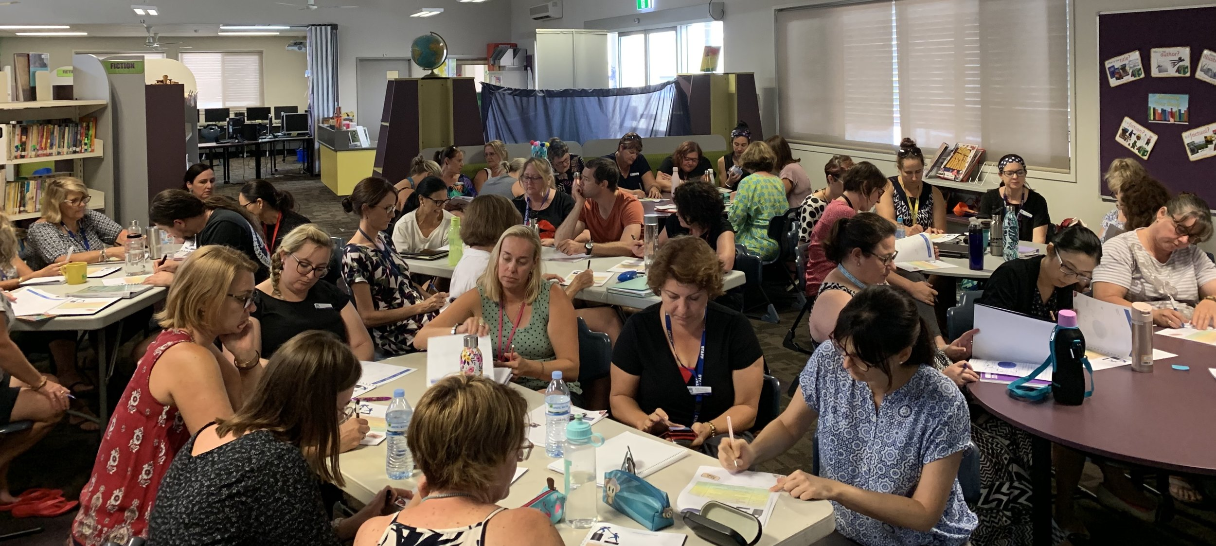 Runcorn State School, Brisbane, investing in their whole staff by supporting them to become incredible peer coaches to each other.