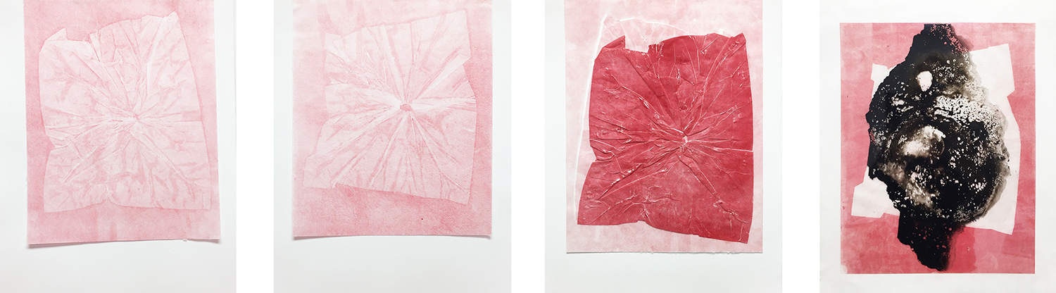 Four variations on rice paper