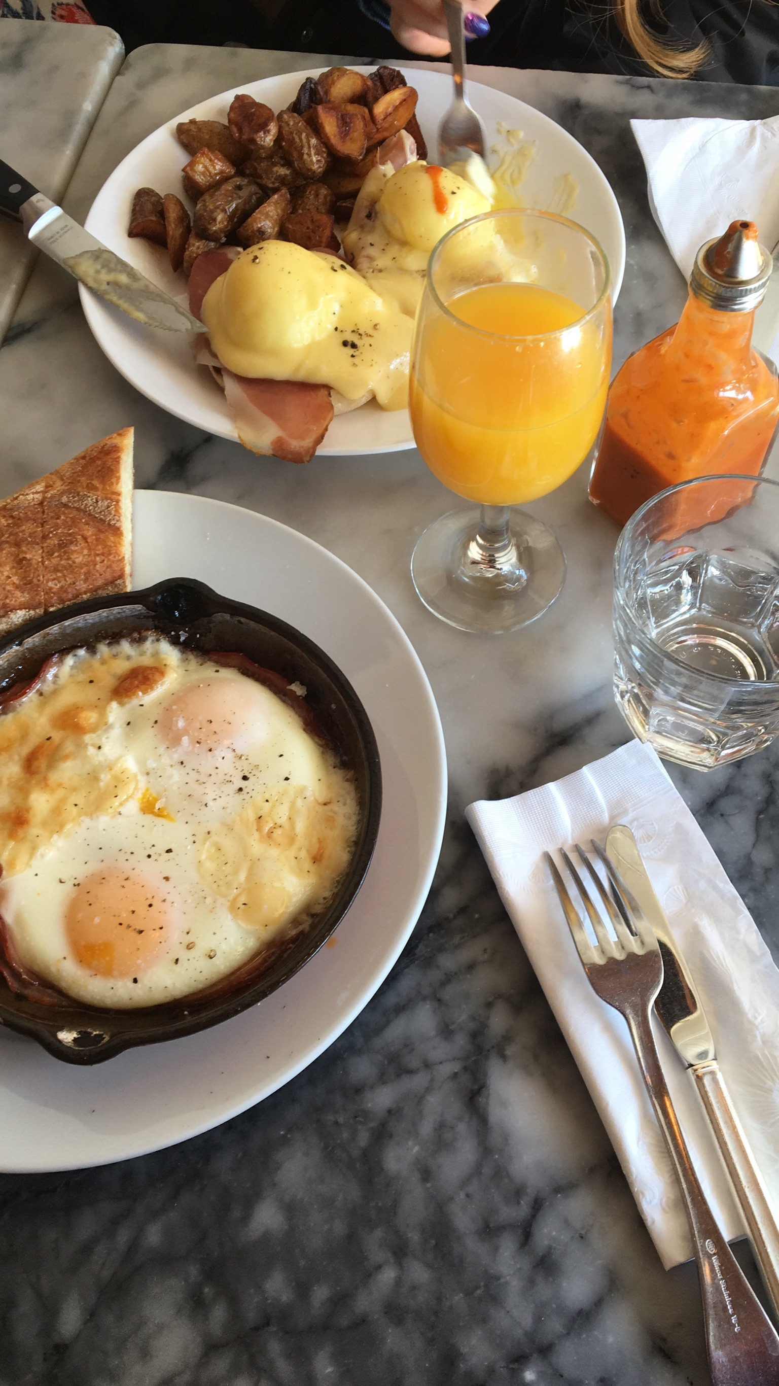 The Fat Hen - Their egg bake was the best I've ever had! There was so much flavor in their tomato sauce since it had a hit of spices from the cayenne and paprika. So make sure to try it for brunch!
