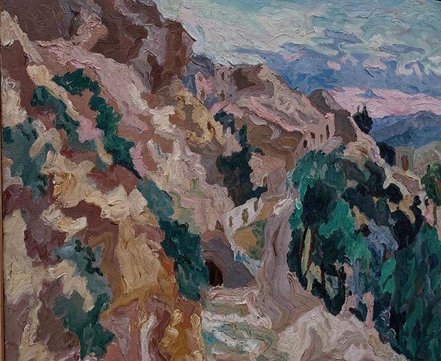 la strada delle grotte (1935)