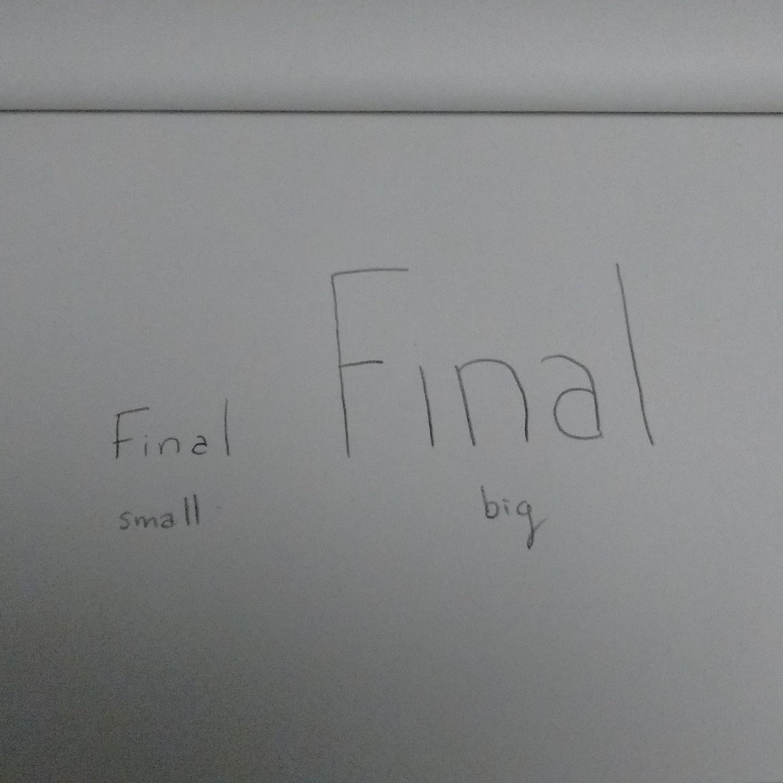 Snowboard cross small final big final
