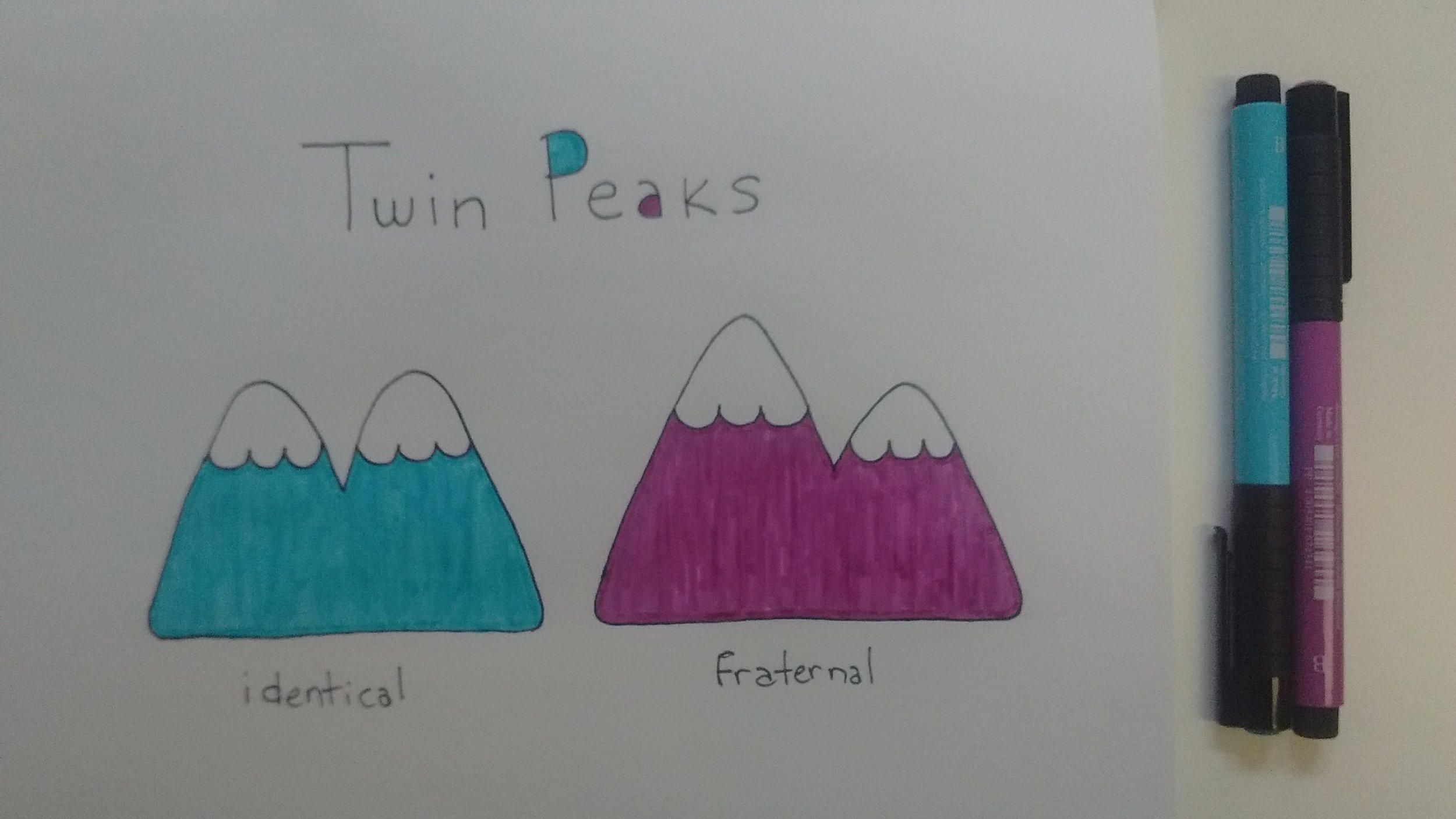 Twin peaks colour
