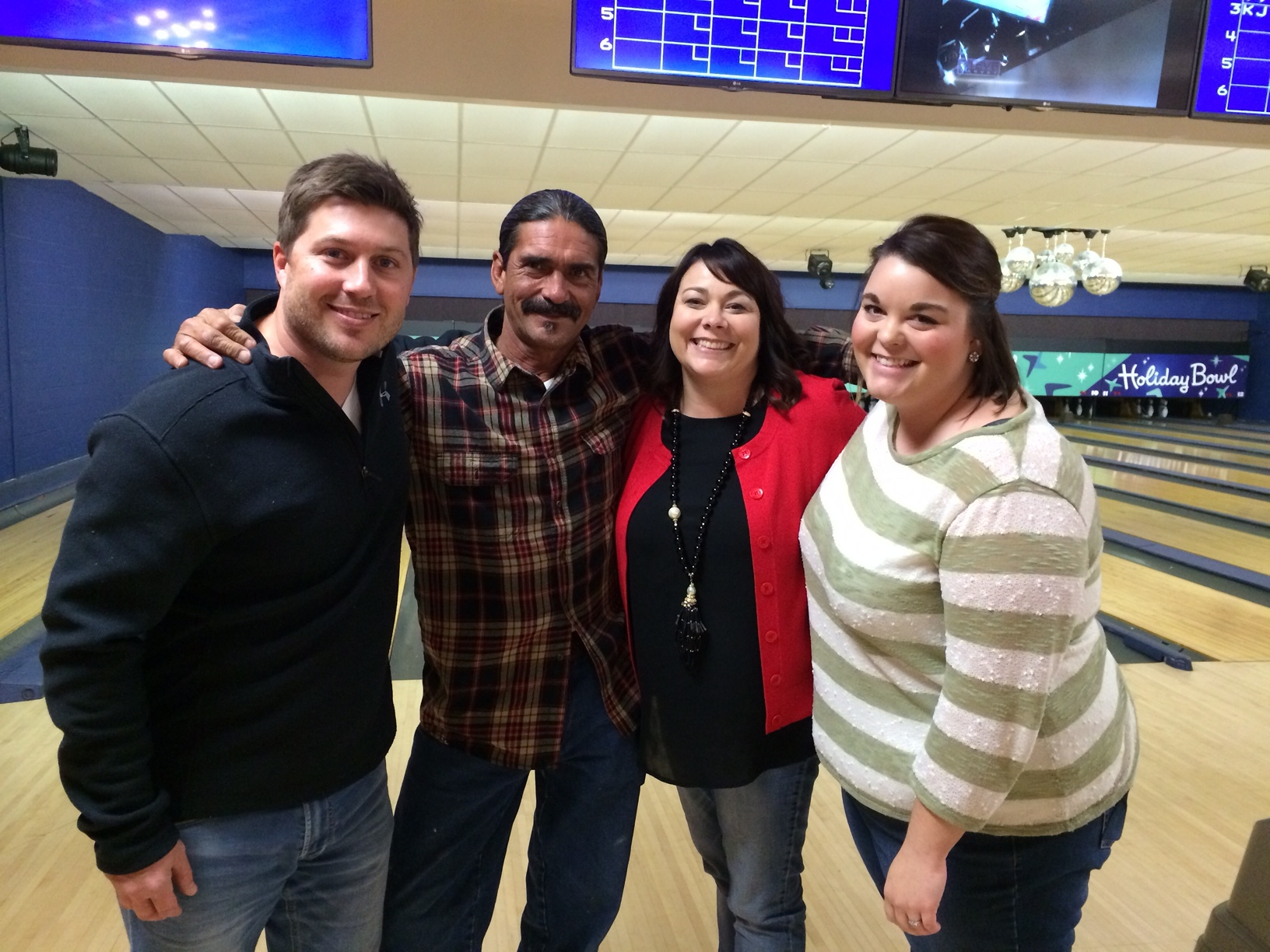 Family 1st Christmas Party, December 2015