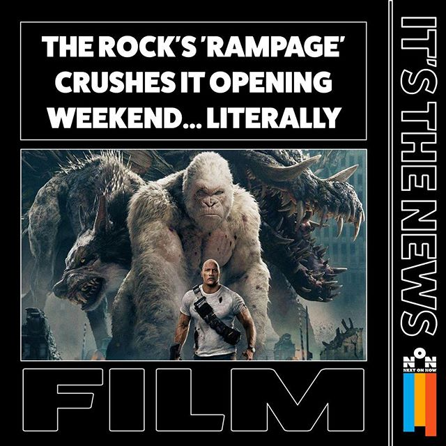 #therock #rampage #openingweekend #videogames #n64 #dwaynejohnson #wwe