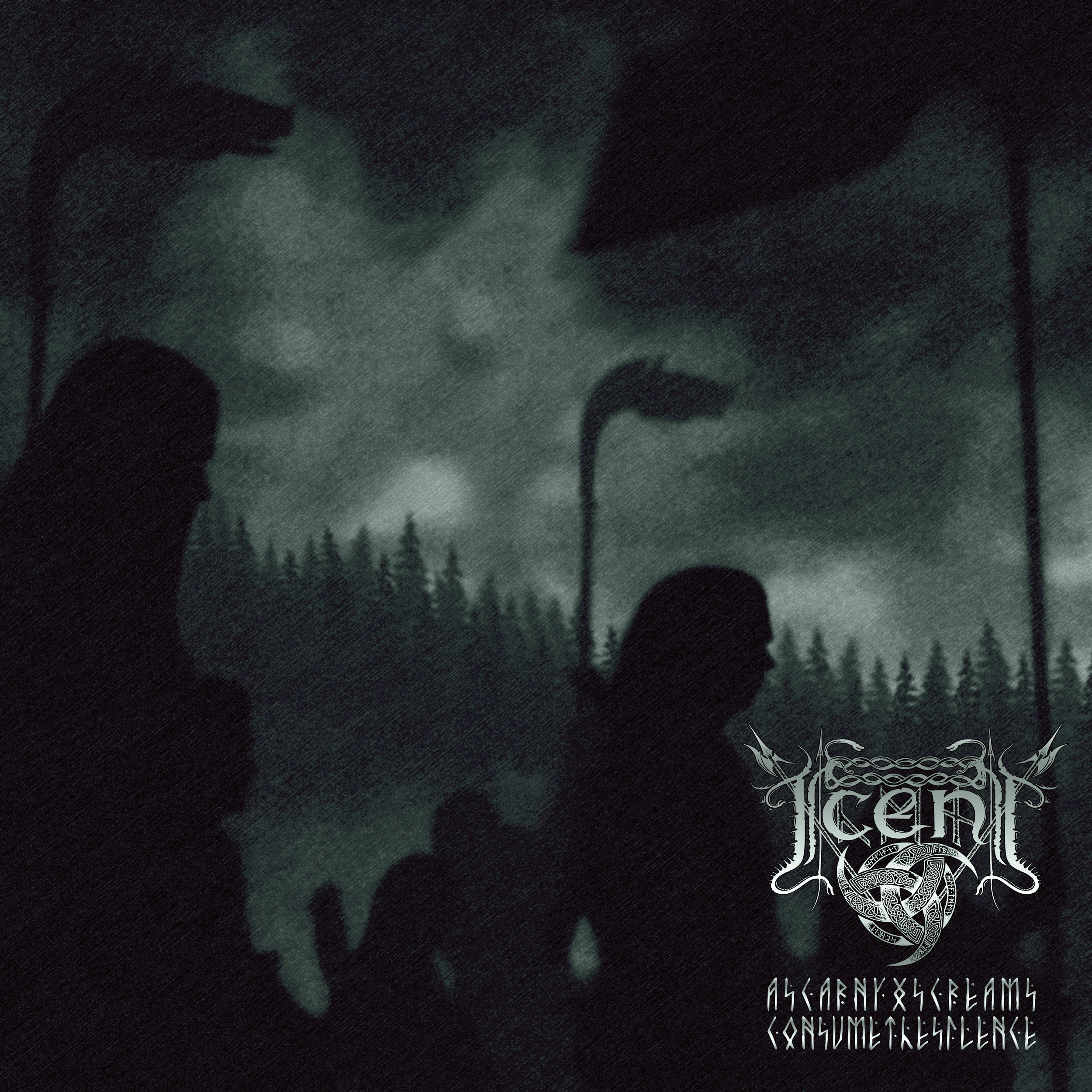 ICENI - As Carnyx Screams Consume The Silence - AEP0010 - LP(Original MR Release: 17.01.2005)
