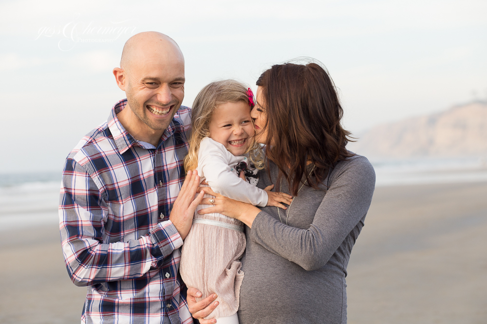 Scripps Pier Family Photography