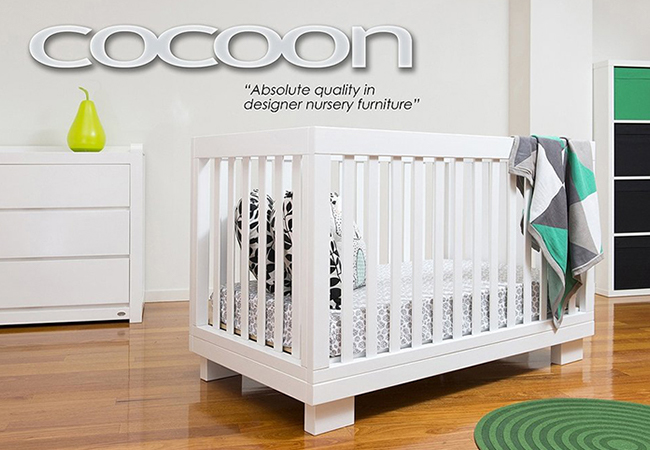 Co Aston 4 In 1 Cot Including Free
