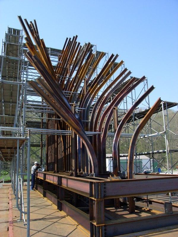 Rail in progress