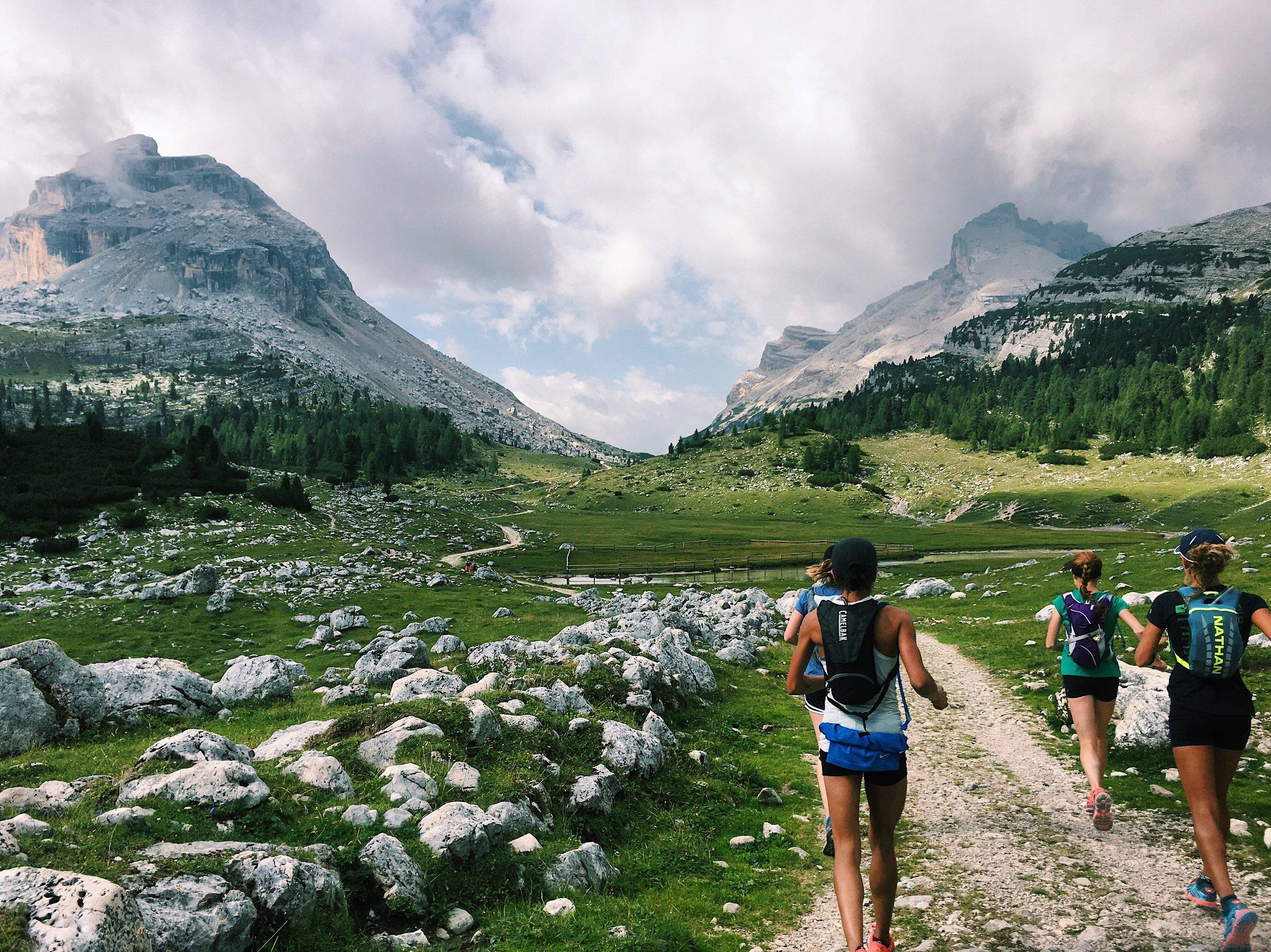 Dolomites Runcation Hut to Hut Trail Running the Alta Via 1